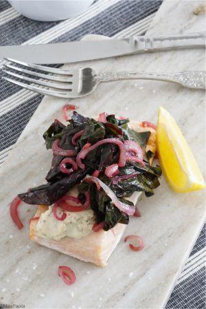 Recette Pavé de saumon délicieusement simple