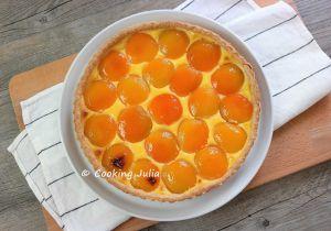 Recette Tarte aux abricots au sirop