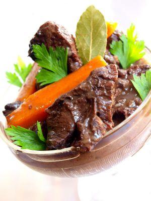 Recette Joue de bœuf aux carottes