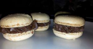 Recette Macaron chocolat - fève tonka