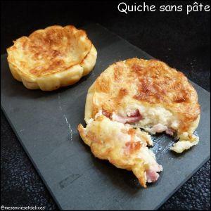 Recette Quiches sans pâte