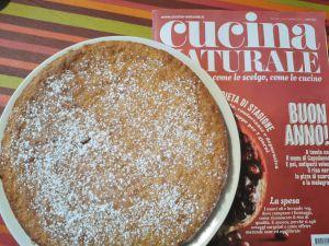 """Recette Gâteau au citron et chocolat blanc """"Torta caprese al limone"""" Sans gluten"""