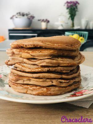Recette Pancakes à la farine de châtaigne d' Halston