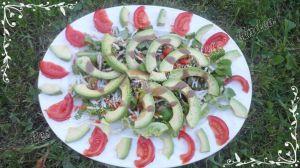 Recette Salade d'avocat