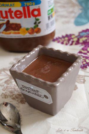 Recette Crèmes au Nutella