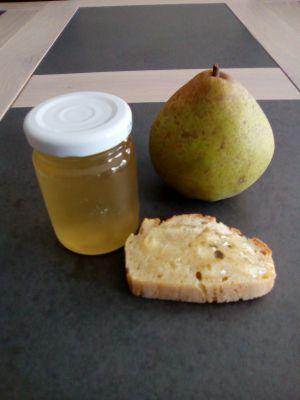 Recette Gelée de poires (avec des épluchures de poires)
