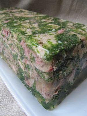 Recette Jambon persillé