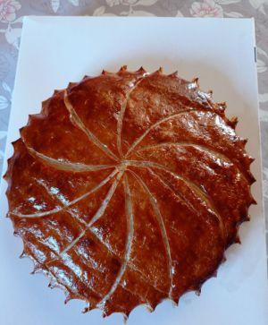 Recette Galette des rois à la crème d'amande et pâte à la farine de riz