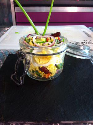 Recette Ma salade Vegan