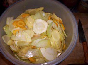 Recette Tian de légumes racines