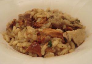 Recette Risotto aux champignons: coulemelles, pieds de mouton et cèpes
