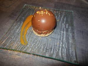 Recette Dôme chocolat - fève tonka