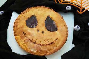 Recette Tarte monstrueuse d'Halloween