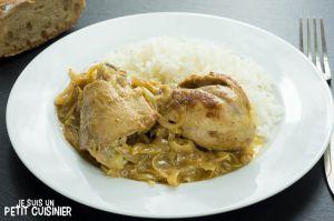 Recette Poulet yassa. Cuisine sénégalaise