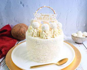 Recette Gâteau raffaelo ananas noix de coco