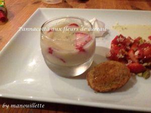 Recette Panna cotte fraise-sûreau