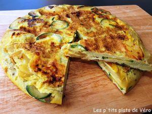 Recette Tortilla aux courgettes