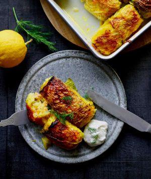 Recette Choux farcis aux 2 saumons