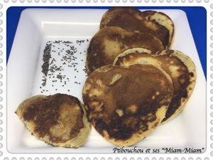 Recette Pancakes banane-chia