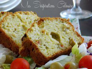 Recette Cake salé aux courgettes et parmesan