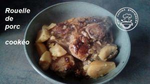 Recette Rouelle de porc au cookéo