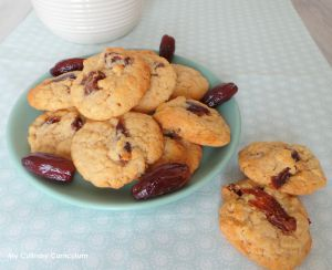 Recette Cookies aux dattes (Cookies with dates)