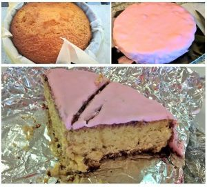 Recette Gâteau recouvert de pâte à sucre