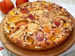 Recette Gâteau aux nectarines