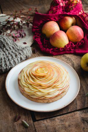 Recette Tarte aux pommes d'après Cédric Grolet