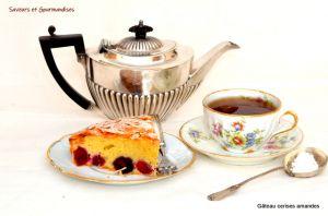 Recette Gâteau aux Cerises et Amandes