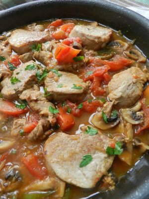 Recette Filet mignon de porc au paprika