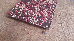 Recette Cookies au Chocolat Noisettes Framboises Côte d'Or