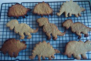 Recette Biscuits dinosaurus faits maison