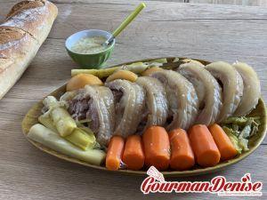Recette Tête de veau sauce gribiche