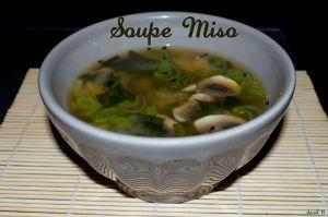 Recette Soupe miso