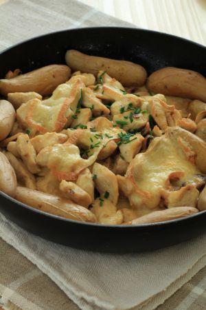 Recette Maroilles embaume ma cuisine avec un poulet gratiné