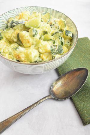 Recette Courgettes à la crème et fromage