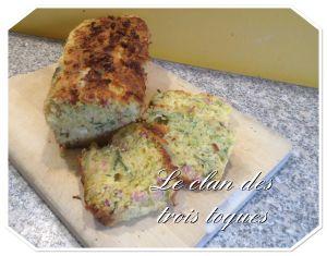 Recette Cake poireaux / lardons