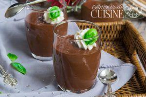Recette Pots de crème au chocolat et cassonade
