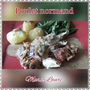 Recette Poulet Normand