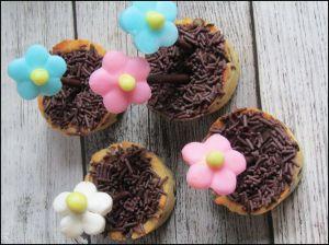 Recette Cookies pots de fleur