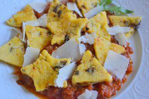 Recette Polenta aux tomates