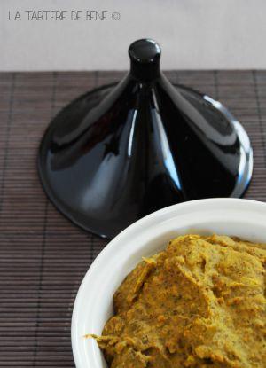 Recette Terrine végétale aux haricots noirs et curcuma