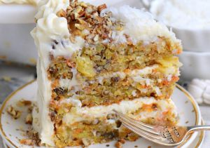 Recette Gâteau aux carottes à l'ananas