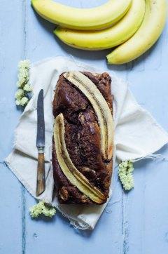 Recette Banana bread au chocolat