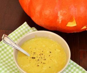 Recette Soupe de citrouille marrons