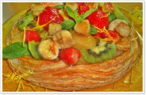 Recette Tarte Jockey(tarte marguerite)