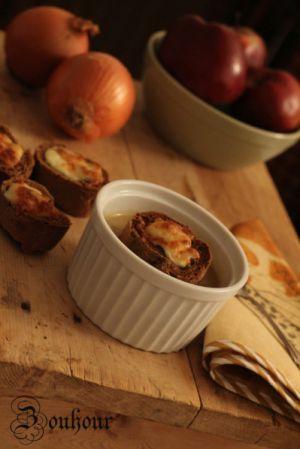 Recette Soupe à l'oignon (Onion soup)