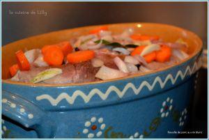 Recette Rouelle de porc au vin blanc
