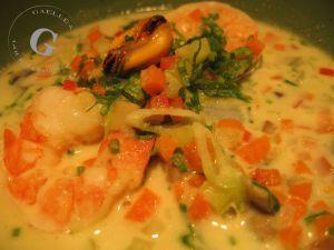 Recette Soupe Thai aux Fruits de Mer